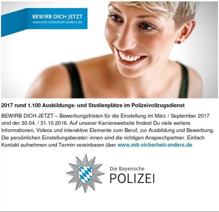 undefined - Polizei Bayern Bewerbung